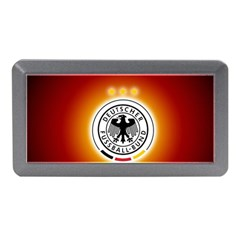 Deutschland Logos Football Not Soccer Germany National Team Nationalmannschaft Memory Card Reader (mini)