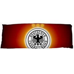 Deutschland Logos Football Not Soccer Germany National Team Nationalmannschaft Body Pillow Case (dakimakura)