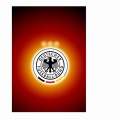 Deutschland Logos Football Not Soccer Germany National Team Nationalmannschaft Large Garden Flag (two Sides)