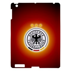Deutschland Logos Football Not Soccer Germany National Team Nationalmannschaft Apple Ipad 3/4 Hardshell Case