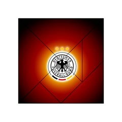 Deutschland Logos Football Not Soccer Germany National Team Nationalmannschaft Acrylic Tangram Puzzle (4  X 4 )