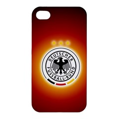 Deutschland Logos Football Not Soccer Germany National Team Nationalmannschaft Apple Iphone 4/4s Premium Hardshell Case