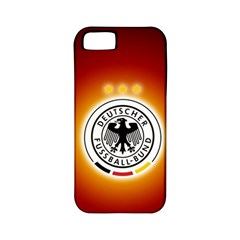 Deutschland Logos Football Not Soccer Germany National Team Nationalmannschaft Apple Iphone 5 Classic Hardshell Case (pc+silicone)