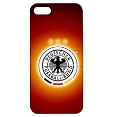 Deutschland Logos Football Not Soccer Germany National Team Nationalmannschaft Apple Iphone 5 Hardshell Case With Stand