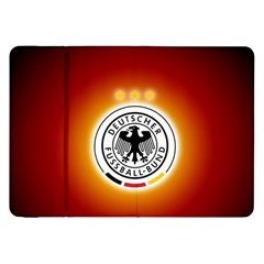 Deutschland Logos Football Not Soccer Germany National Team Nationalmannschaft Samsung Galaxy Tab 8 9  P7300 Flip Case