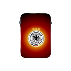Deutschland Logos Football Not Soccer Germany National Team Nationalmannschaft Apple Ipad Mini Protective Soft Cases