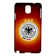 Deutschland Logos Football Not Soccer Germany National Team Nationalmannschaft Samsung Galaxy Note 3 N9005 Hardshell Case