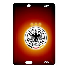 Deutschland Logos Football Not Soccer Germany National Team Nationalmannschaft Amazon Kindle Fire Hd (2013) Hardshell Case
