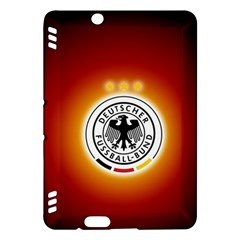 Deutschland Logos Football Not Soccer Germany National Team Nationalmannschaft Kindle Fire Hdx Hardshell Case