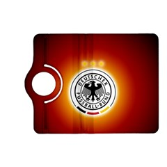 Deutschland Logos Football Not Soccer Germany National Team Nationalmannschaft Kindle Fire Hd (2013) Flip 360 Case