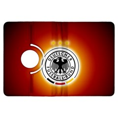 Deutschland Logos Football Not Soccer Germany National Team Nationalmannschaft Kindle Fire Hdx Flip 360 Case