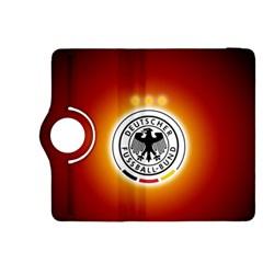 Deutschland Logos Football Not Soccer Germany National Team Nationalmannschaft Kindle Fire Hdx 8 9  Flip 360 Case