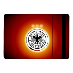 Deutschland Logos Football Not Soccer Germany National Team Nationalmannschaft Samsung Galaxy Tab Pro 10 1  Flip Case