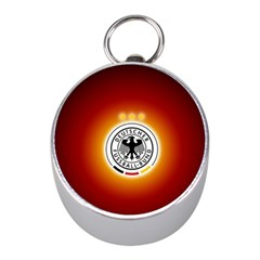 Deutschland Logos Football Not Soccer Germany National Team Nationalmannschaft Mini Silver Compasses