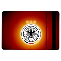 Deutschland Logos Football Not Soccer Germany National Team Nationalmannschaft Ipad Air Flip