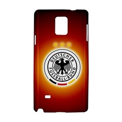 Deutschland Logos Football Not Soccer Germany National Team Nationalmannschaft Samsung Galaxy Note 4 Hardshell Case