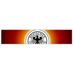Deutschland Logos Football Not Soccer Germany National Team Nationalmannschaft Flano Scarf (small)