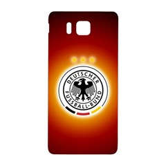 Deutschland Logos Football Not Soccer Germany National Team Nationalmannschaft Samsung Galaxy Alpha Hardshell Back Case