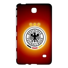 Deutschland Logos Football Not Soccer Germany National Team Nationalmannschaft Samsung Galaxy Tab 4 (7 ) Hardshell Case