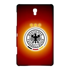 Deutschland Logos Football Not Soccer Germany National Team Nationalmannschaft Samsung Galaxy Tab S (8 4 ) Hardshell Case