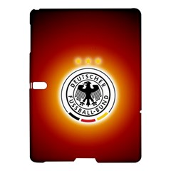 Deutschland Logos Football Not Soccer Germany National Team Nationalmannschaft Samsung Galaxy Tab S (10 5 ) Hardshell Case