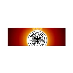 Deutschland Logos Football Not Soccer Germany National Team Nationalmannschaft Satin Scarf (oblong)