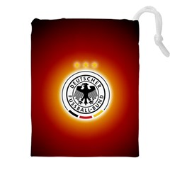 Deutschland Logos Football Not Soccer Germany National Team Nationalmannschaft Drawstring Pouches (xxl)