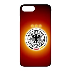 Deutschland Logos Football Not Soccer Germany National Team Nationalmannschaft Apple Iphone 7 Plus Hardshell Case