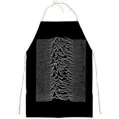 Grayscale Joy Division Graph Unknown Pleasures Full Print Aprons