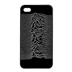 Grayscale Joy Division Graph Unknown Pleasures Apple Iphone 4/4s Seamless Case (black)