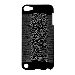 Grayscale Joy Division Graph Unknown Pleasures Apple Ipod Touch 5 Hardshell Case