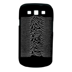 Grayscale Joy Division Graph Unknown Pleasures Samsung Galaxy S Iii Classic Hardshell Case (pc+silicone)