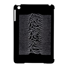 Grayscale Joy Division Graph Unknown Pleasures Apple Ipad Mini Hardshell Case (compatible With Smart Cover)
