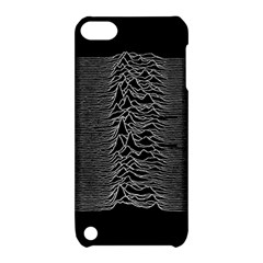 Grayscale Joy Division Graph Unknown Pleasures Apple Ipod Touch 5 Hardshell Case With Stand