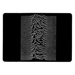 Grayscale Joy Division Graph Unknown Pleasures Samsung Galaxy Tab 10 1  P7500 Flip Case