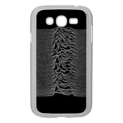 Grayscale Joy Division Graph Unknown Pleasures Samsung Galaxy Grand Duos I9082 Case (white)