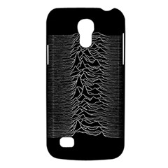 Grayscale Joy Division Graph Unknown Pleasures Galaxy S4 Mini