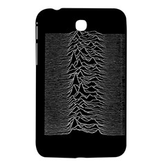 Grayscale Joy Division Graph Unknown Pleasures Samsung Galaxy Tab 3 (7 ) P3200 Hardshell Case