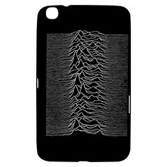 Grayscale Joy Division Graph Unknown Pleasures Samsung Galaxy Tab 3 (8 ) T3100 Hardshell Case