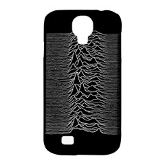 Grayscale Joy Division Graph Unknown Pleasures Samsung Galaxy S4 Classic Hardshell Case (pc+silicone)