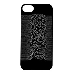 Grayscale Joy Division Graph Unknown Pleasures Apple Iphone 5s/ Se Hardshell Case