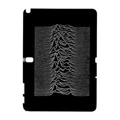 Grayscale Joy Division Graph Unknown Pleasures Samsung Galaxy Note 10 1 (p600) Hardshell Case