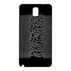 Grayscale Joy Division Graph Unknown Pleasures Samsung Galaxy Note 3 N9005 Hardshell Back Case