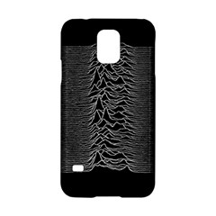 Grayscale Joy Division Graph Unknown Pleasures Samsung Galaxy S5 Hardshell Case