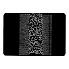 Grayscale Joy Division Graph Unknown Pleasures Samsung Galaxy Tab Pro 10 1  Flip Case