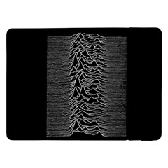 Grayscale Joy Division Graph Unknown Pleasures Samsung Galaxy Tab Pro 12 2  Flip Case