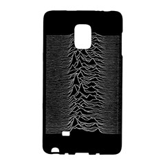 Grayscale Joy Division Graph Unknown Pleasures Galaxy Note Edge