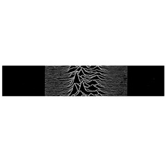 Grayscale Joy Division Graph Unknown Pleasures Flano Scarf (large)