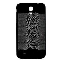 Grayscale Joy Division Graph Unknown Pleasures Samsung Galaxy Mega I9200 Hardshell Back Case