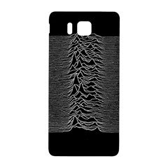 Grayscale Joy Division Graph Unknown Pleasures Samsung Galaxy Alpha Hardshell Back Case